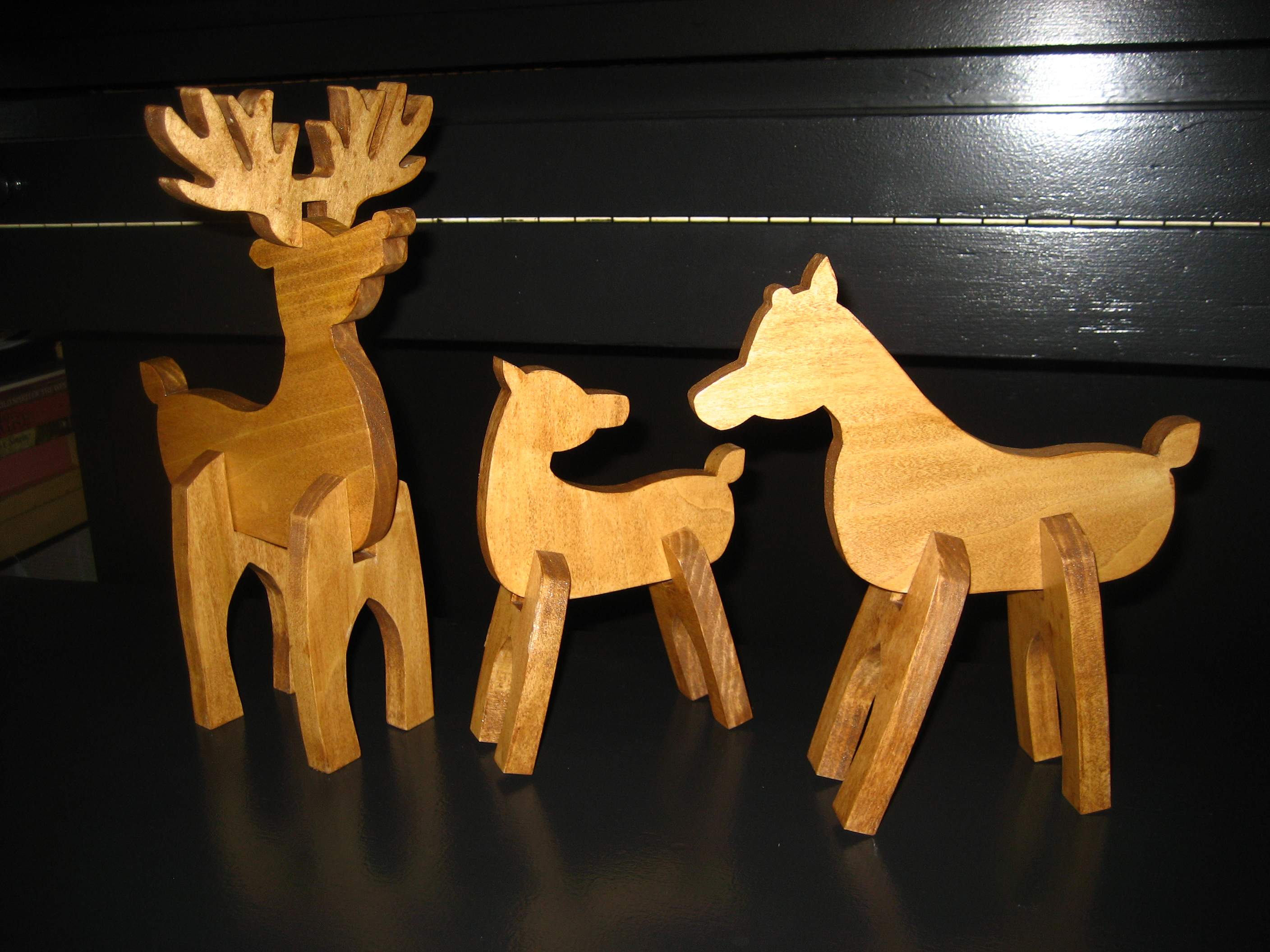 Wooden Reindeer Patterns Free Awesome Design Inspiration